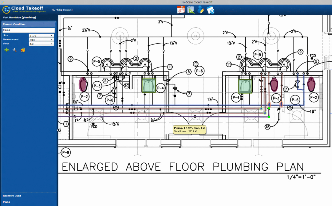Plumbing Estimate Template Elegant Plumbing Estimates Just Got Easier with Cloud Takeoff