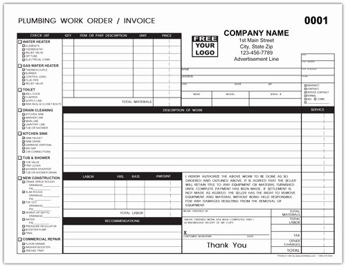 Plumbing Estimate Template New Hvac Service Repair Ticket