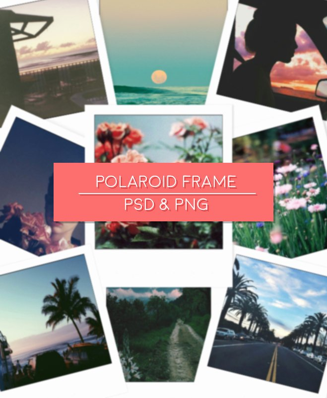 Polaroid Frame Psd Fresh Polaroid Frame Psd by Wordofphoto by Wordofphoto