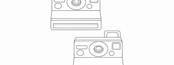 Polaroid Label Template Fresh Polaroid Camera Template – Medium