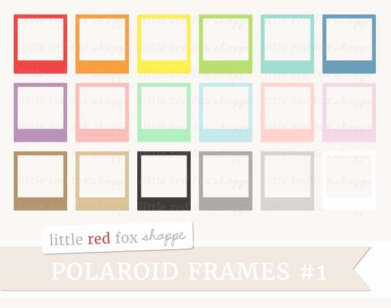 Polaroid Label Template Inspirational Polaroid Frame Clipart Picture Frame Clip Art Vintage