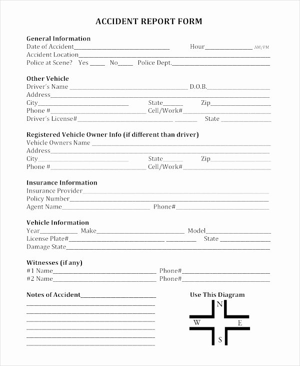 Police Accident Report form Awesome 9 Police Report Examples Samples