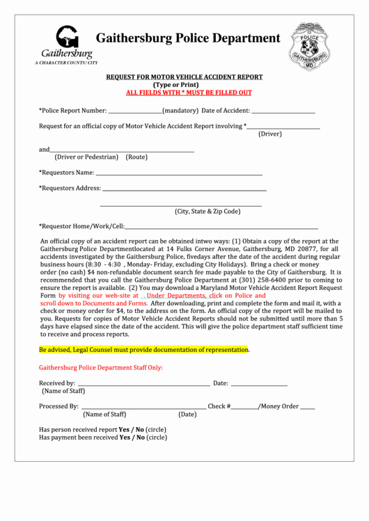 Police Accident Report form Unique top 5 Police Accident Report form Templates Free to