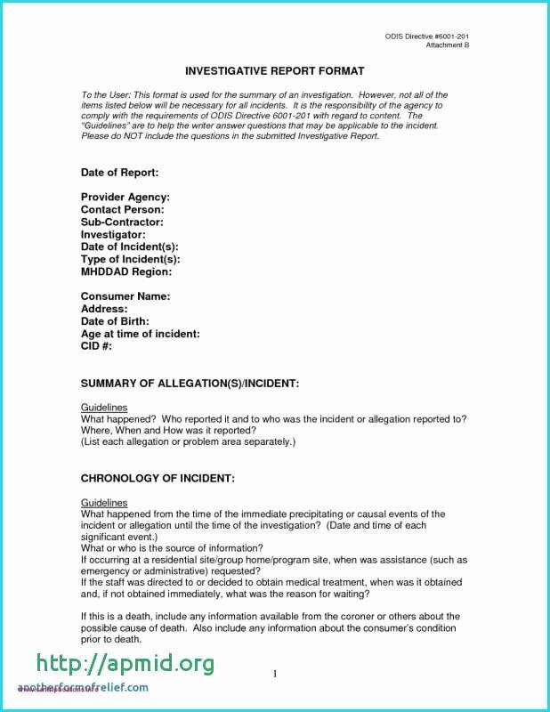 Police Investigation Report Beautiful 17 Briefkopf Vorlage 201 Age