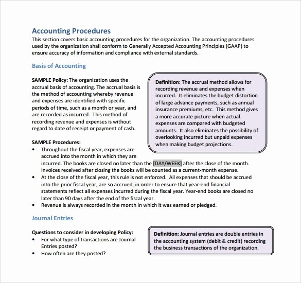 Policy and Procedure Template Free New Gallery Basic Policy and Procedure Template Coloring