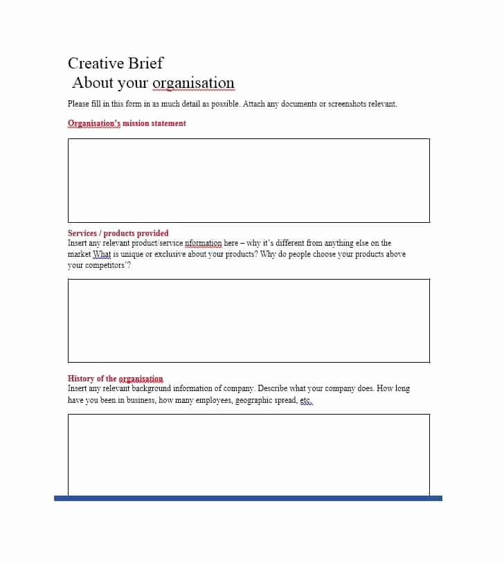 Policy Brief Templates Microsoft Word Elegant 40 Creative Brief Templates & Examples Template Lab
