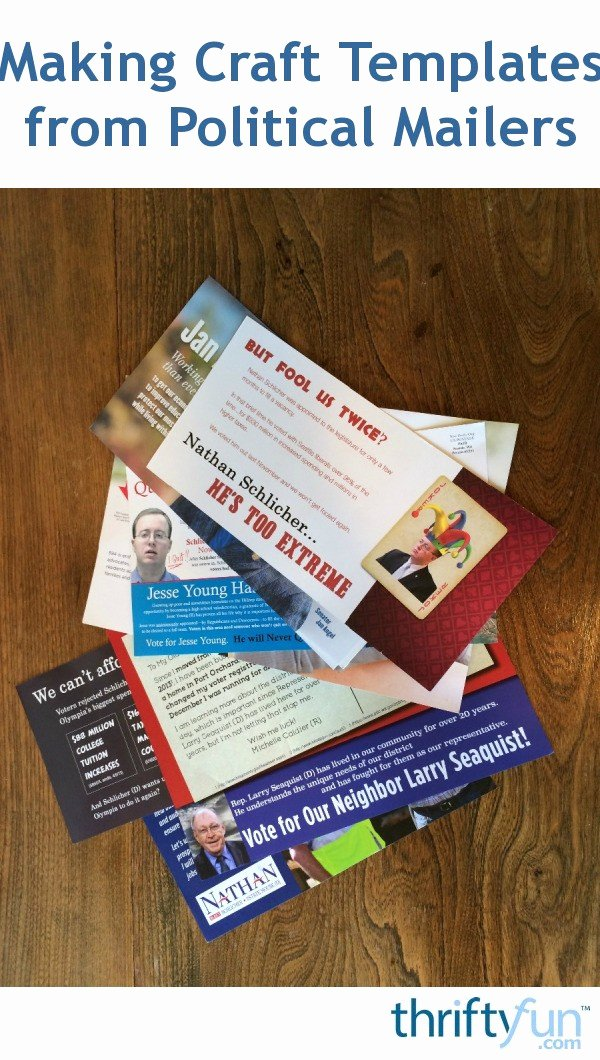 Political Mailers Template Beautiful Making Craft Templates From Political Mailers
