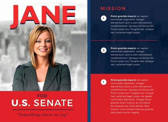 Political Mailers Template Inspirational Political Flyer Template 3 by Seraphimchris On