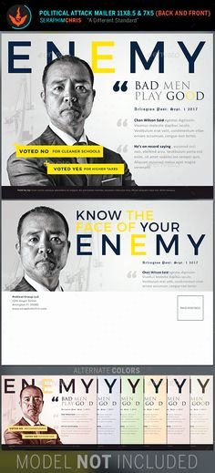 Political Mailers Template New Election Flyer Template Microsoft Word