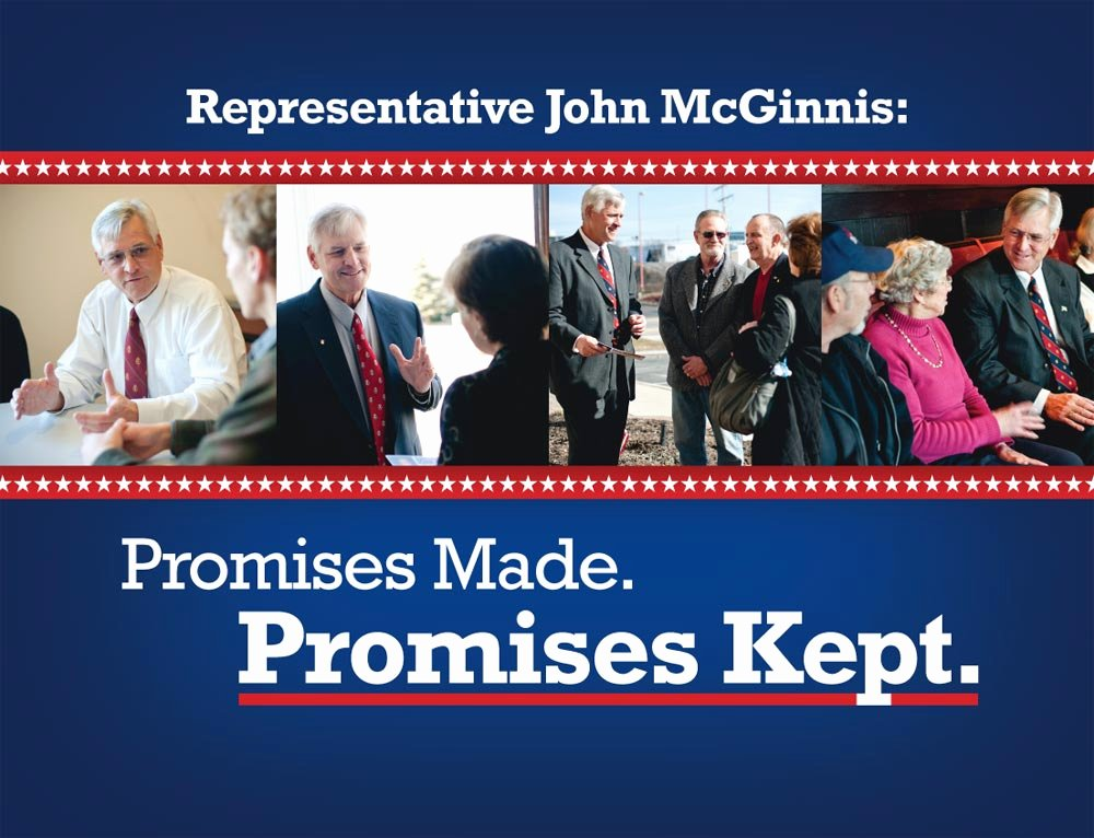 Political Mailers Template New Representative John Mcginnis Thank You Mailer