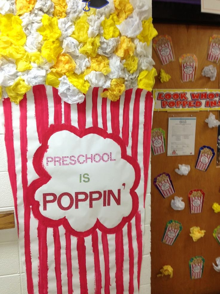 Popcorn Template for Bulletin Board Awesome Best 20 Popcorn theme Ideas On Pinterest