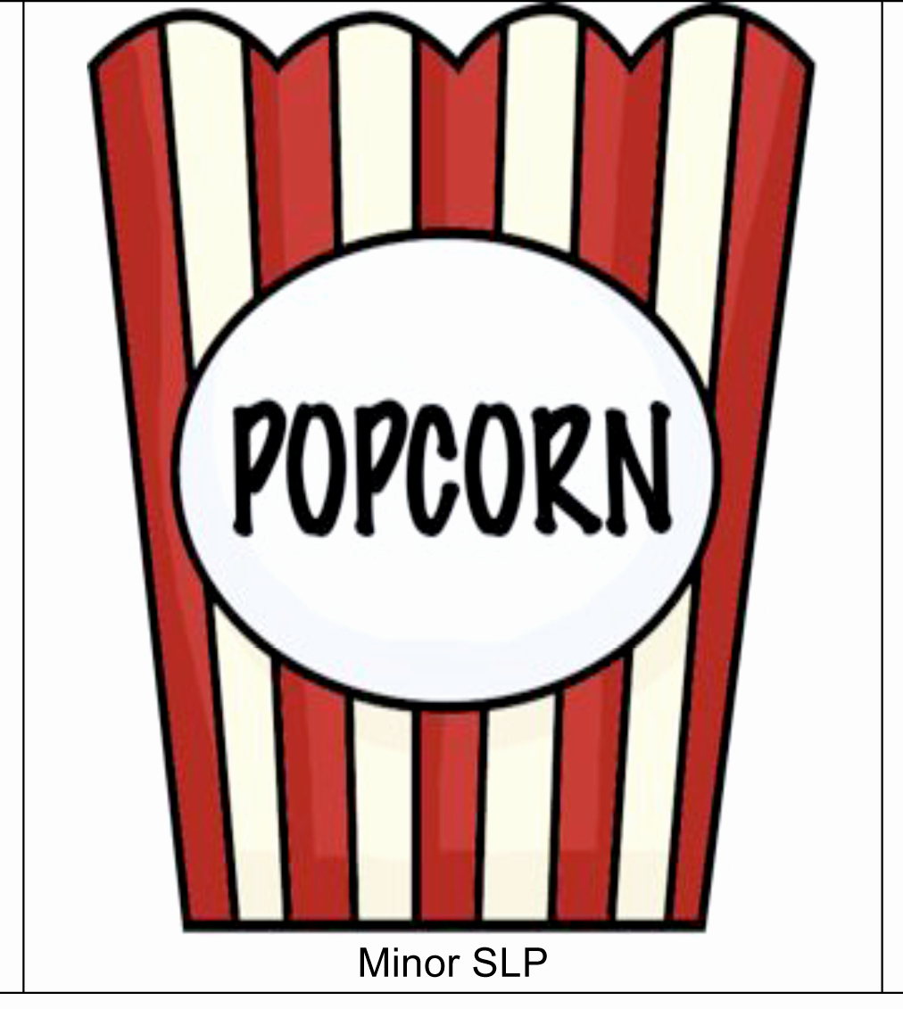 Popcorn Template for Bulletin Board Awesome Popcorn Bag Clip Art Summer Pinterest