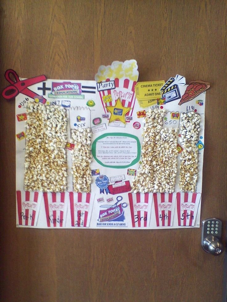 Popcorn Template for Bulletin Board Lovely 17 Best Ideas About Popcorn Bulletin Boards On Pinterest