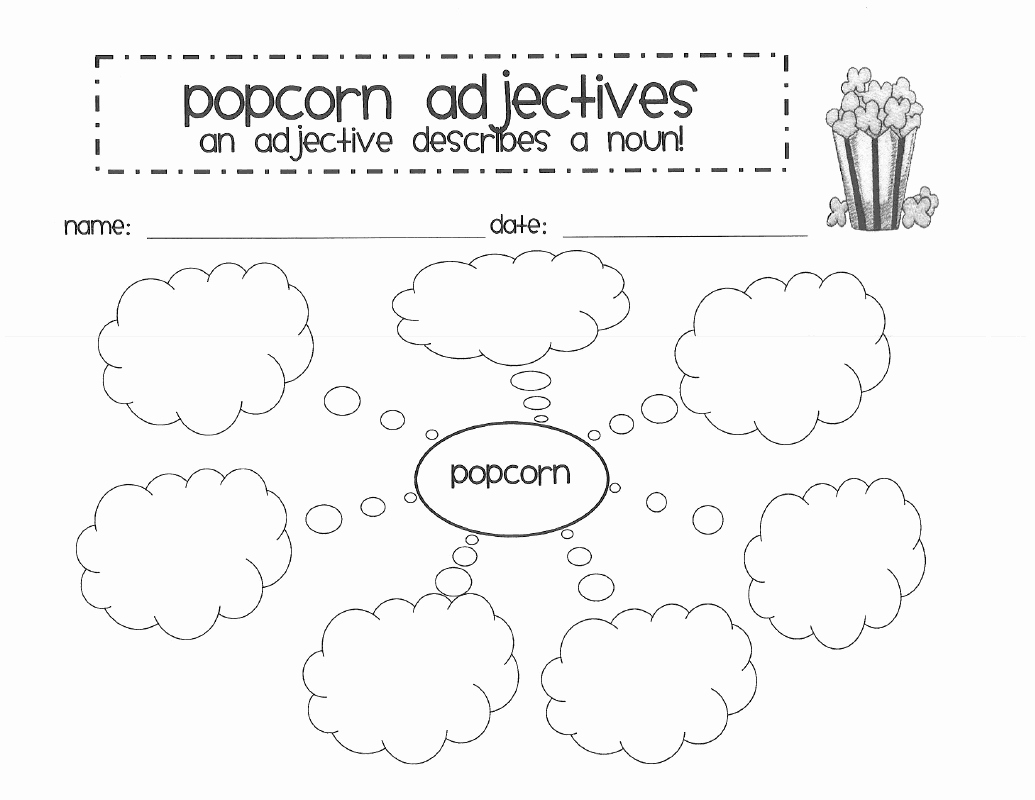 Popcorn Template for Bulletin Board Unique Wards Way Of Teaching Four Posts In E