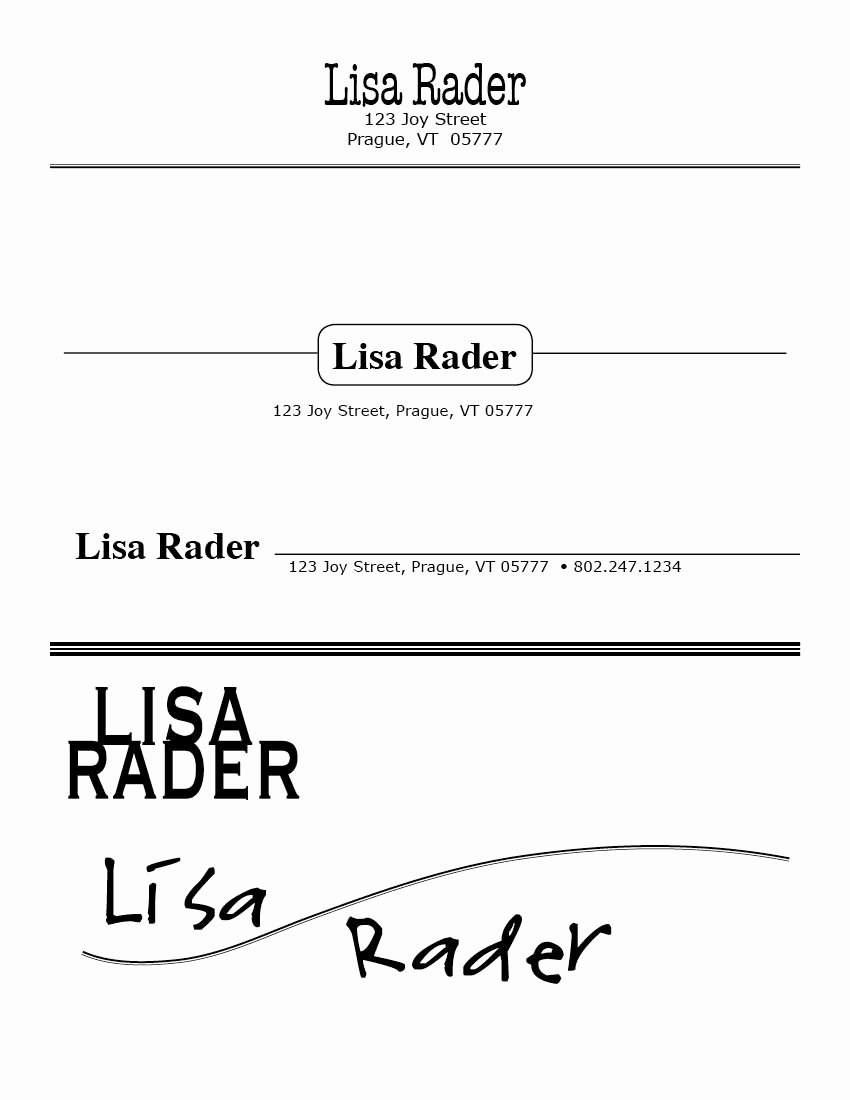 Portfolio Cover Pages Templates New Binder Design & Illustration