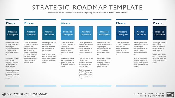 Portfolio Management Template Inspirational 25 Best Ideas About Technology Roadmap On Pinterest