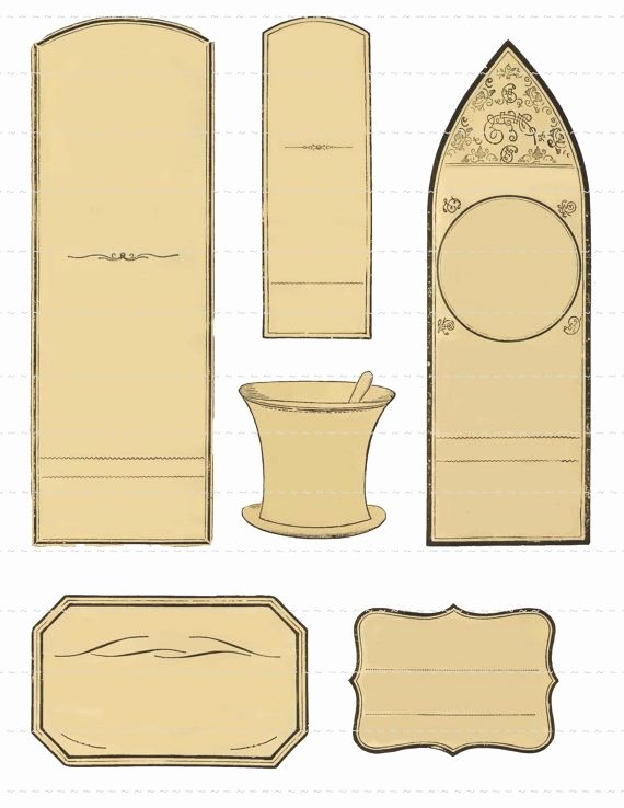 Potion Label Template New 17 Best Ideas About Blank Labels On Pinterest