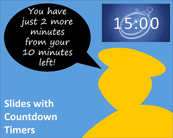 Powerpoint Countdown Timer Template Elegant Slides with Countdown Timers