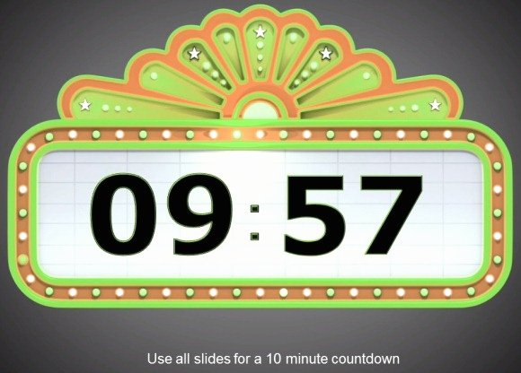Powerpoint Countdown Timer Template Fresh Awesome Countdown Powerpoint Templates