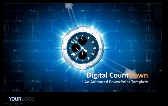 Powerpoint Countdown Timer Template Luxury Awesome Countdown Powerpoint Templates
