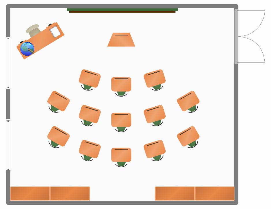 Powerpoint Floor Plan Template Beautiful Classroom Seating Chart