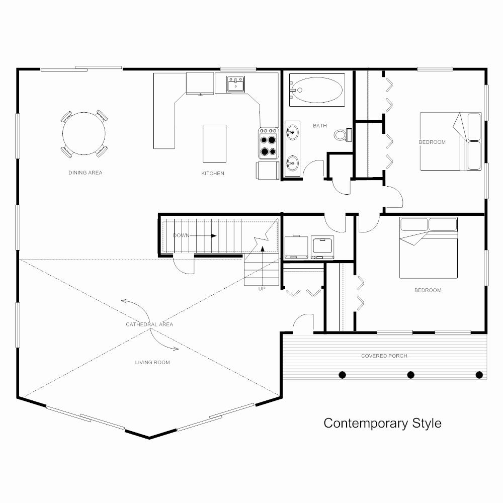 Powerpoint Floor Plan Template Best Of Floor Plan Templates Draw Floor Plans Easily with Templates
