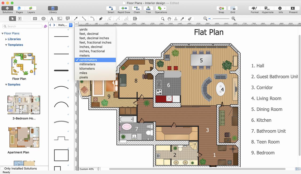 Powerpoint Floor Plan Template Best Of Powerpoint Presentation Of A Floor Plan
