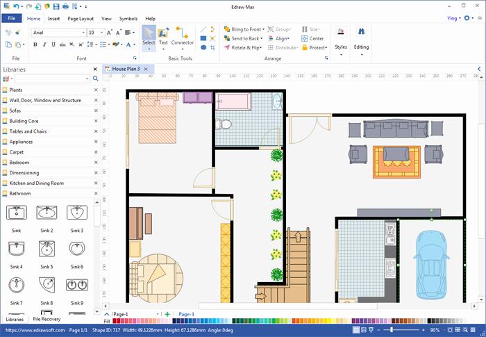 Powerpoint Floor Plan Template Inspirational Create Floor Plan for Pdf