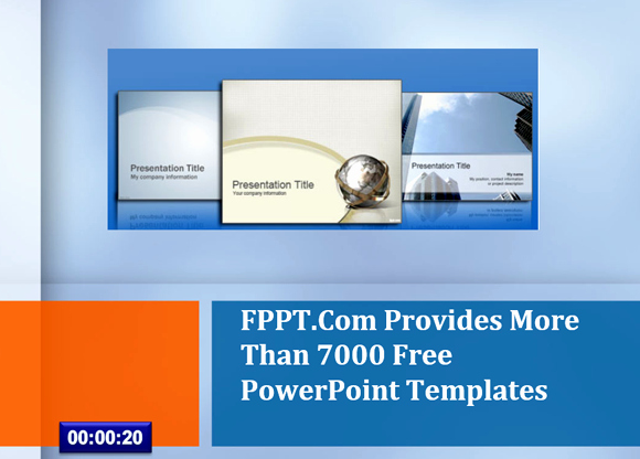 Powerpoint Timer Template Awesome Set Timer for 15 Minutes Presentation