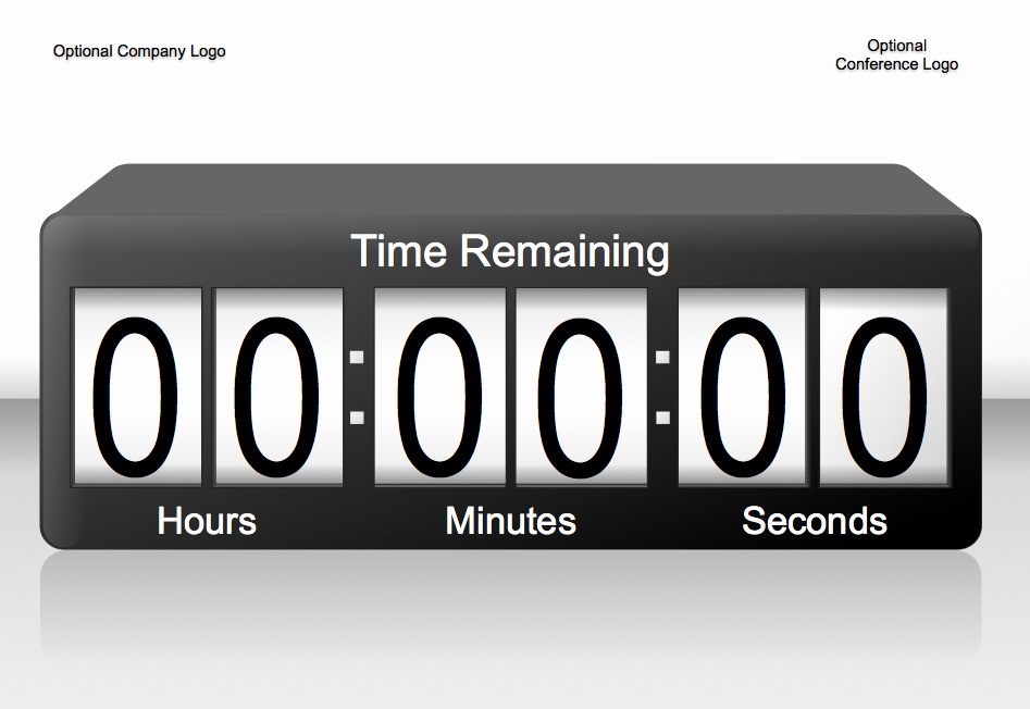 Powerpoint Timer Template Lovely 3d Animated 60min Powerpoint Countdown Timer 4 3 by