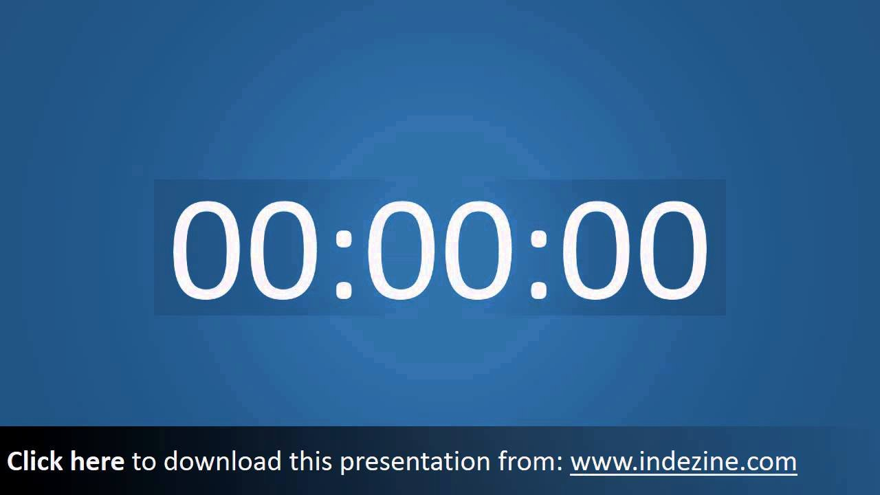 Powerpoint Timer Template Luxury Seventytwo Premium Ing soon Countdown Clock for
