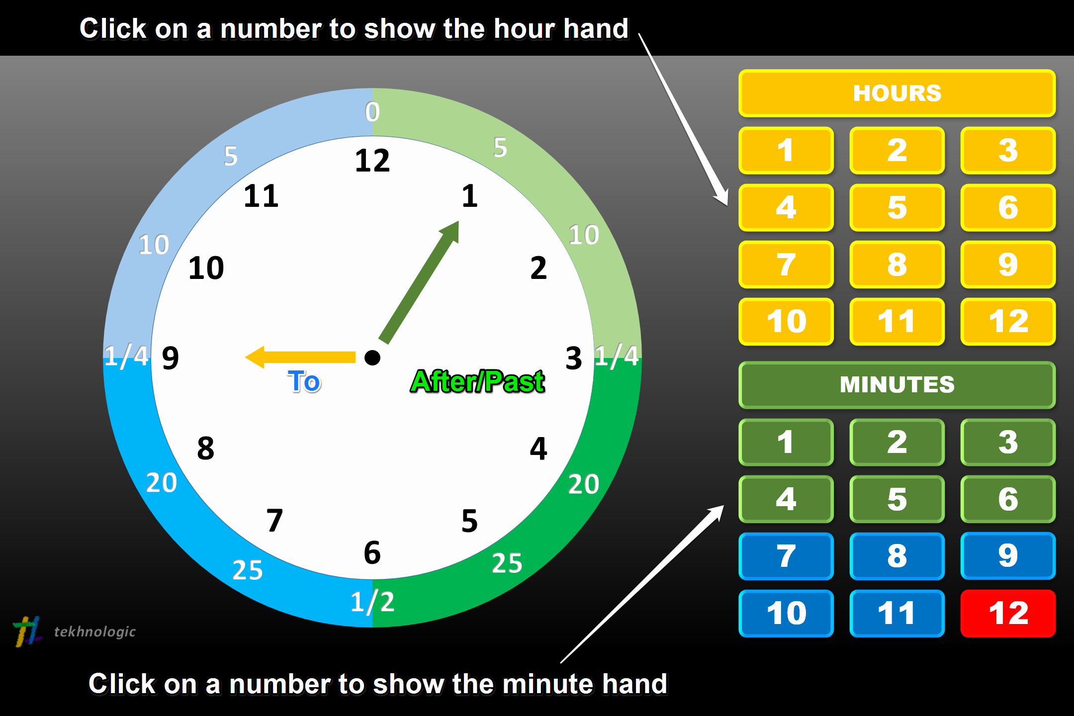 Powerpoint Timer Template Luxury Teaching Time with Powerpoint – Tekhnologic