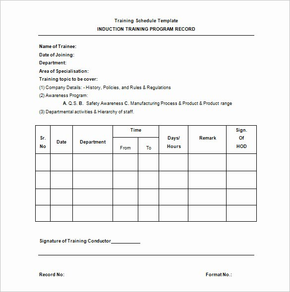 Practice Schedule Template Fresh 21 Training Schedule Templates Doc Pdf