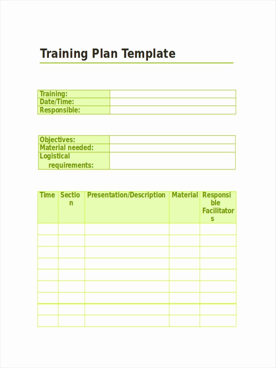 Practice Schedule Template Luxury 10 Training Schedule Examples Samples