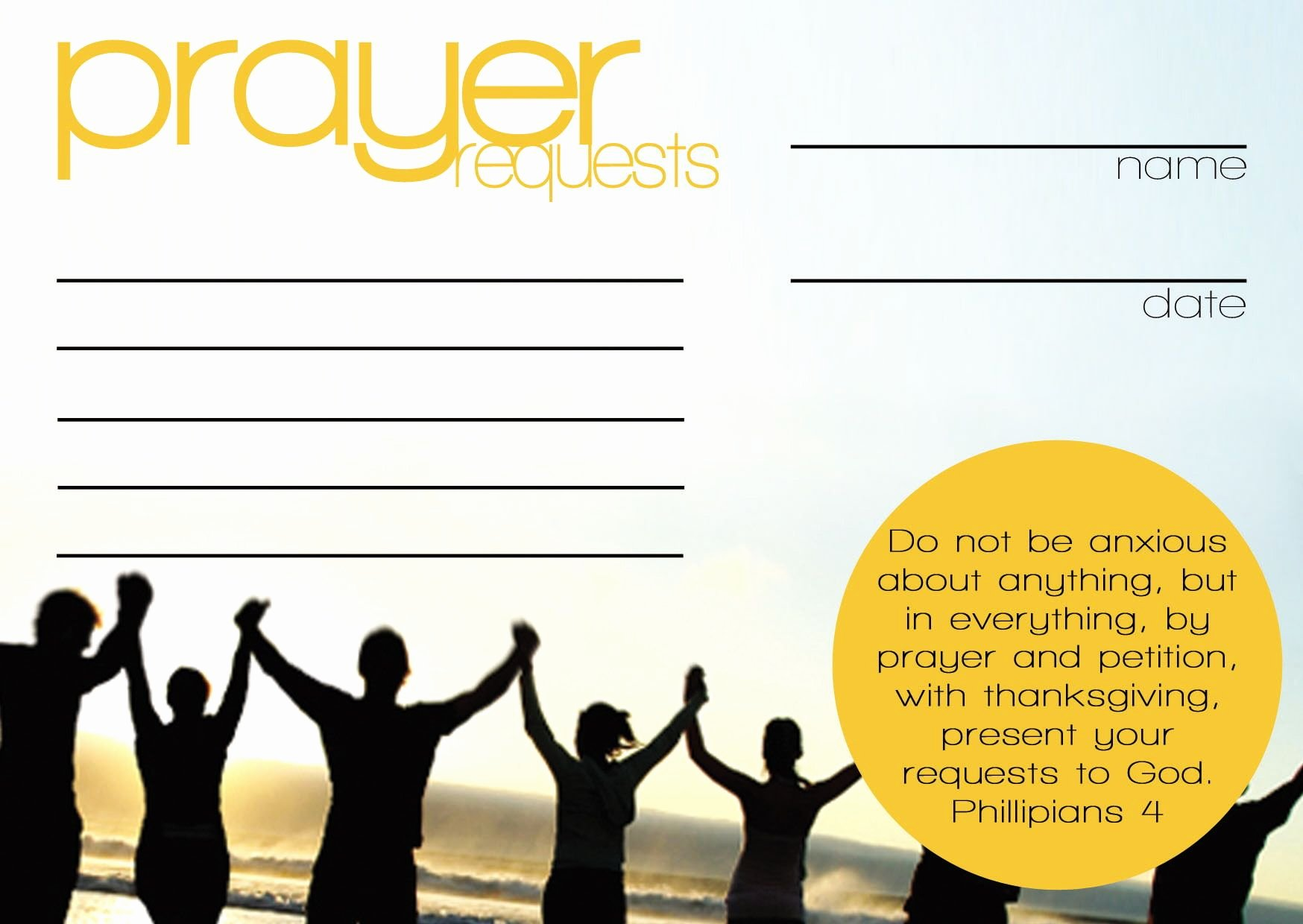 Prayer Card Template Free Awesome Prayer Request Cards Templates