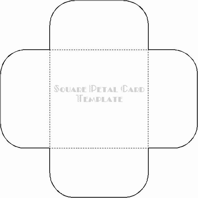 Prayer Card Template Free Elegant Squre Petal Card Template Temptress