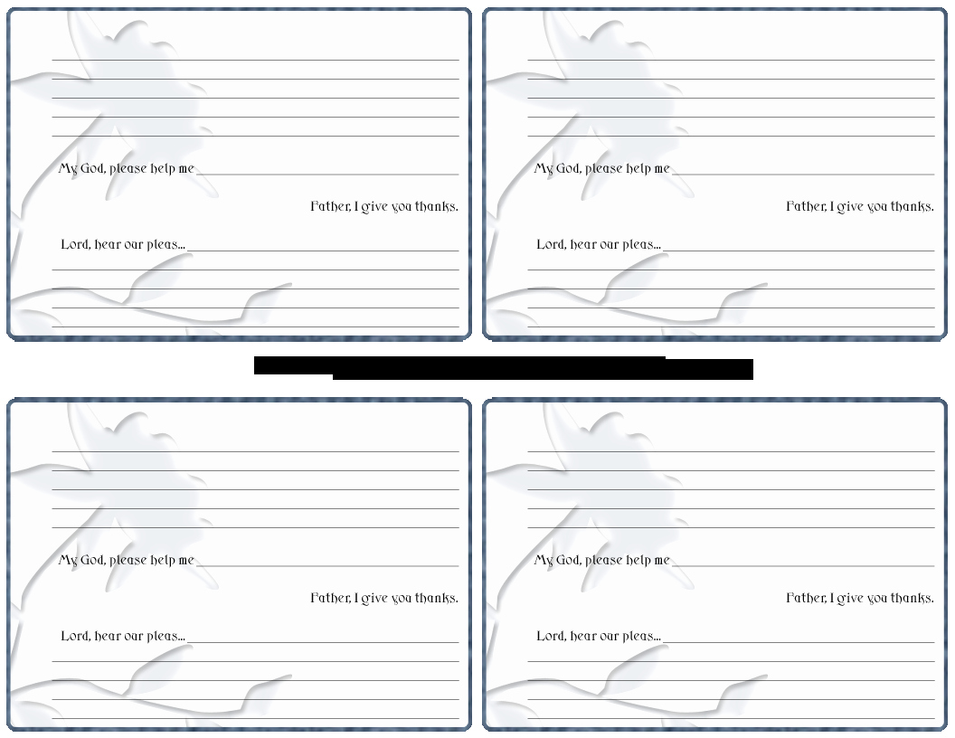 Prayer Card Template Free New 8 Best Of Printable Prayer Sheets Free Templates