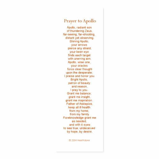 Prayer Card Template Luxury Apollo Prayer Card Double Sided Mini Business Cards Pack