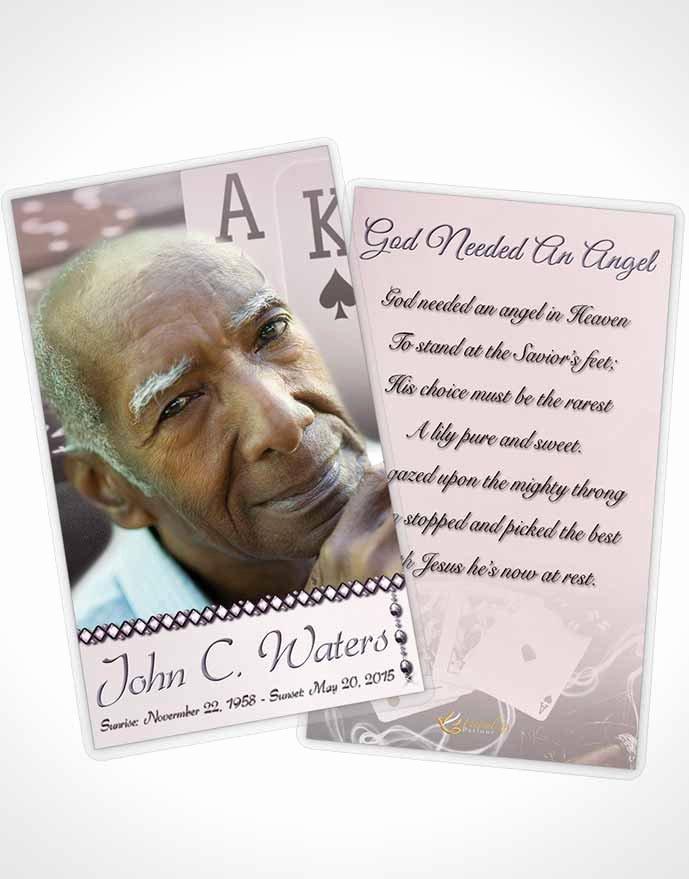 Prayer Card Template Luxury Prayer Card Template Midnight Cards