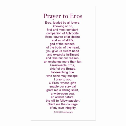 Prayer Card Templates Free Best Of Eros Prayer Card Business Card Template
