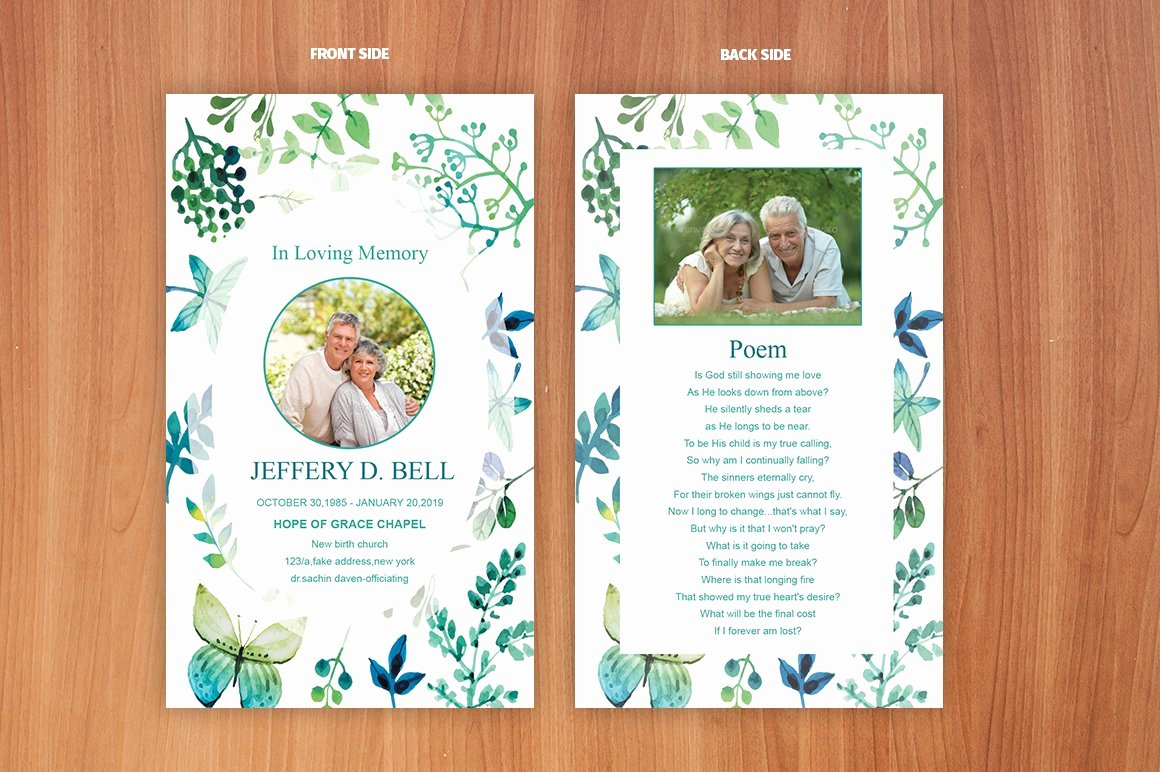 Prayer Card Templates Free New Funeral Prayer Card Template Card Templates Creative