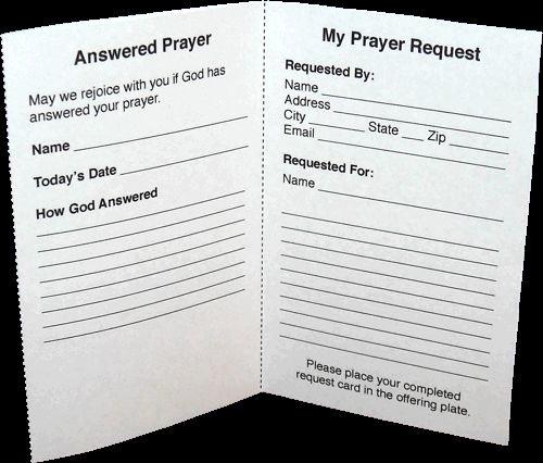 Prayer Request Cards Free Printables Elegant Free Printable Prayer Request