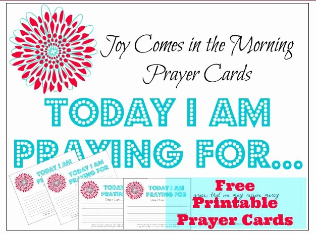 Prayer Request Cards Free Printables New Free Printable Prayer Cards