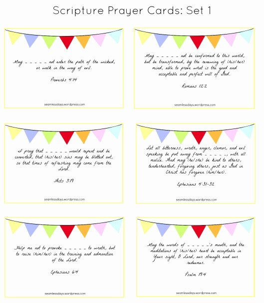 Prayer Request Cards Free Printables Unique Praying for Your Children A Free Printable