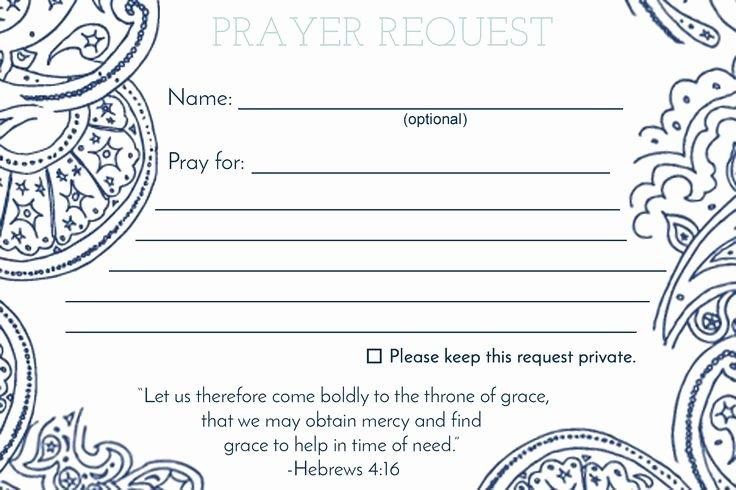 Prayer Request Cards Template New De 25 Bedste Idéer Inden for Anmodning Bøn På Pinterest