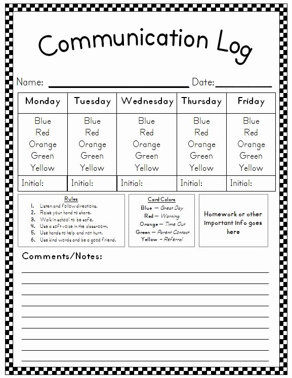 Preschool Discipline Policy Template Lovely Best 25 Student Behavior Log Ideas On Pinterest