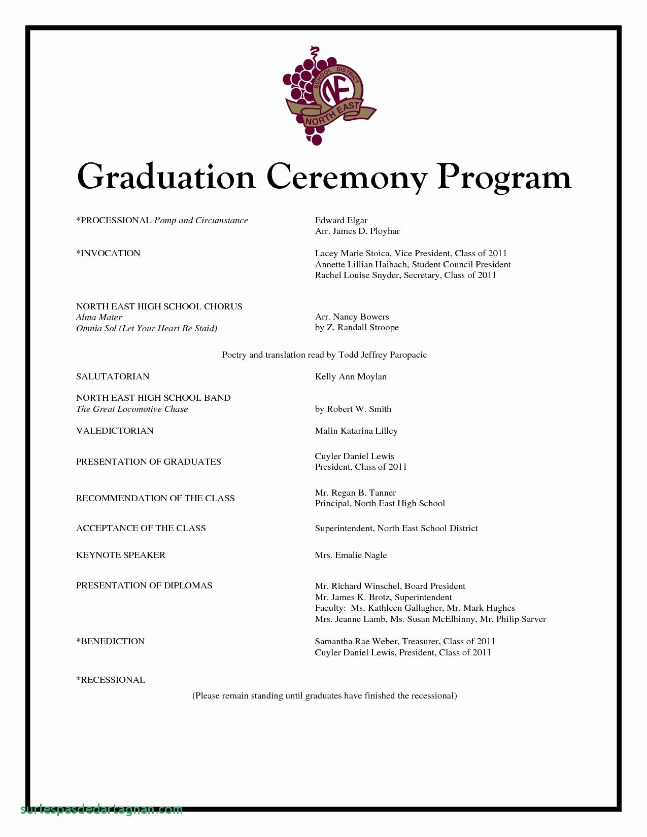 Preschool Graduation Program Template Elegant Preschool Graduation Programs Template Hashtag Bg