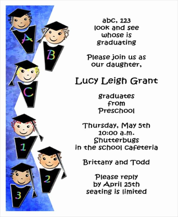 Preschool Graduation Programs Template Inspirational 7 Graduation Program Templates Pdf Word