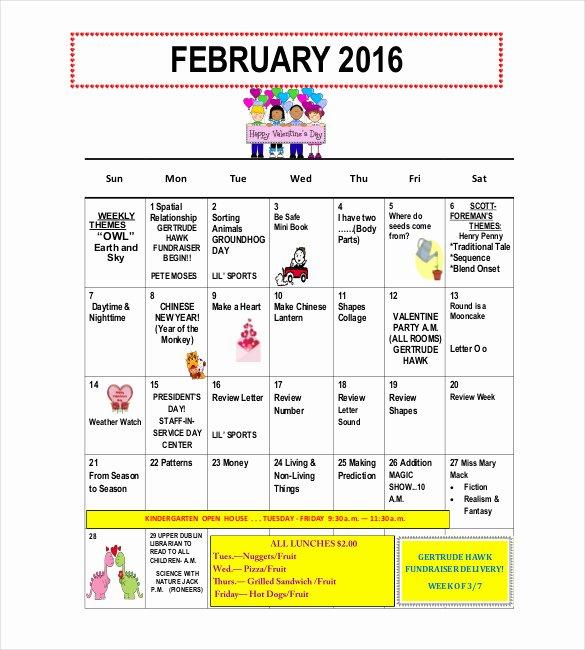 Preschool Newsletter Template Free Beautiful 10 Preschool Newsletter Templates – Free Sample Example