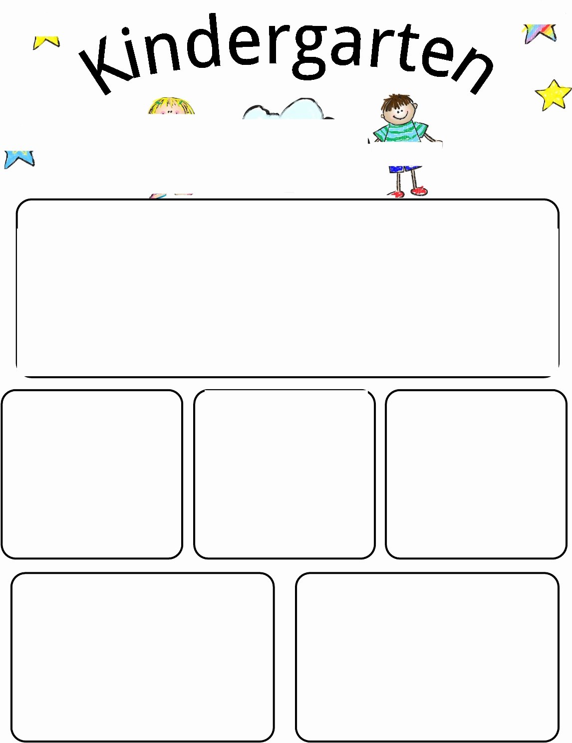 Preschool Newsletter Templates Free Inspirational Kindergarten Newsletter Template Free
